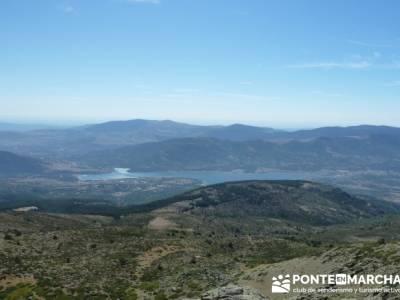 El Pico del Nevero y la Cascada del Chorro - rutas cerca de madrid; cerezo en flor valle del jerte